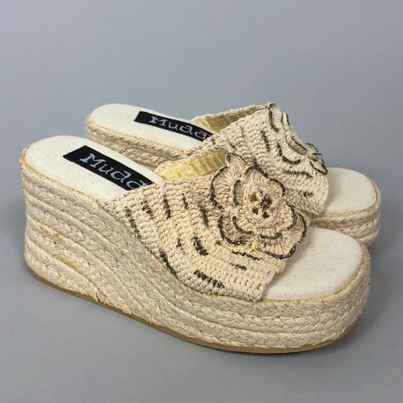 d308158e1ab8 Vintage 90s Mudd Platform Sandals. M 5ab86b852ae12ff5df19f5f1